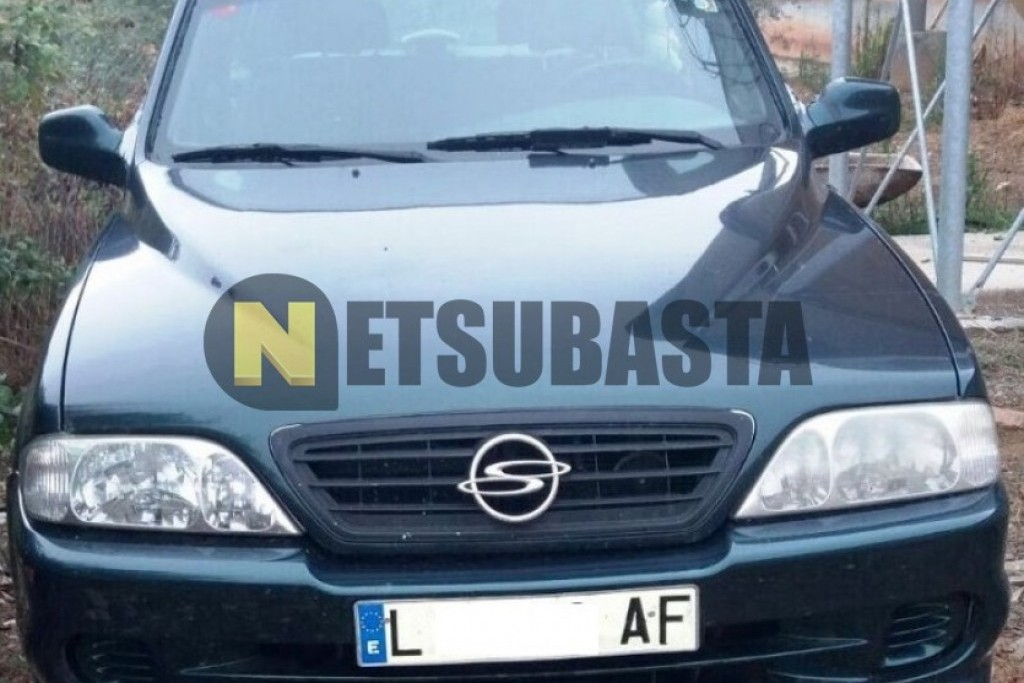 SsangYong Musso 2.3TD 1999