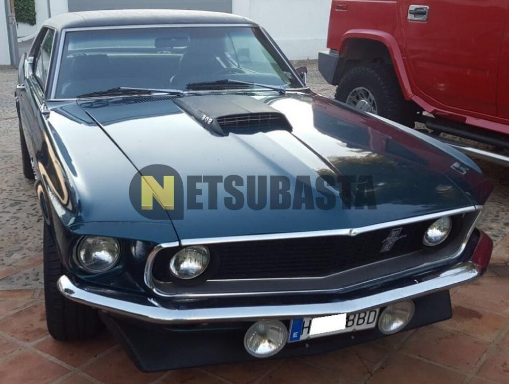 Ford mustang 5 0 boss v8 302 1969