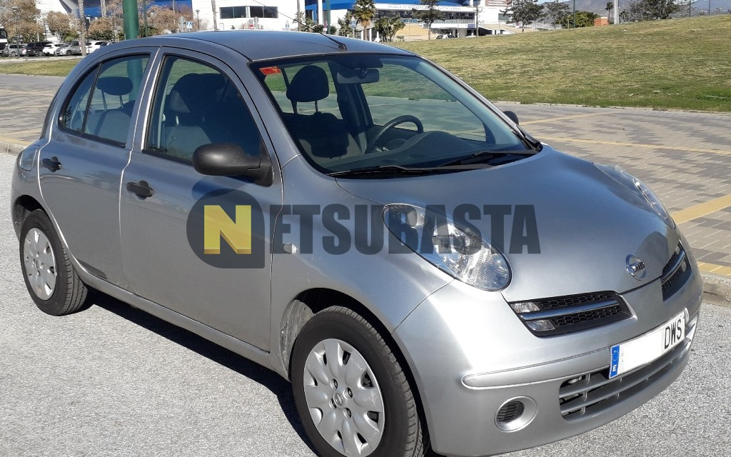 subasta de nissan micra 1 2 visia 2006. Black Bedroom Furniture Sets. Home Design Ideas