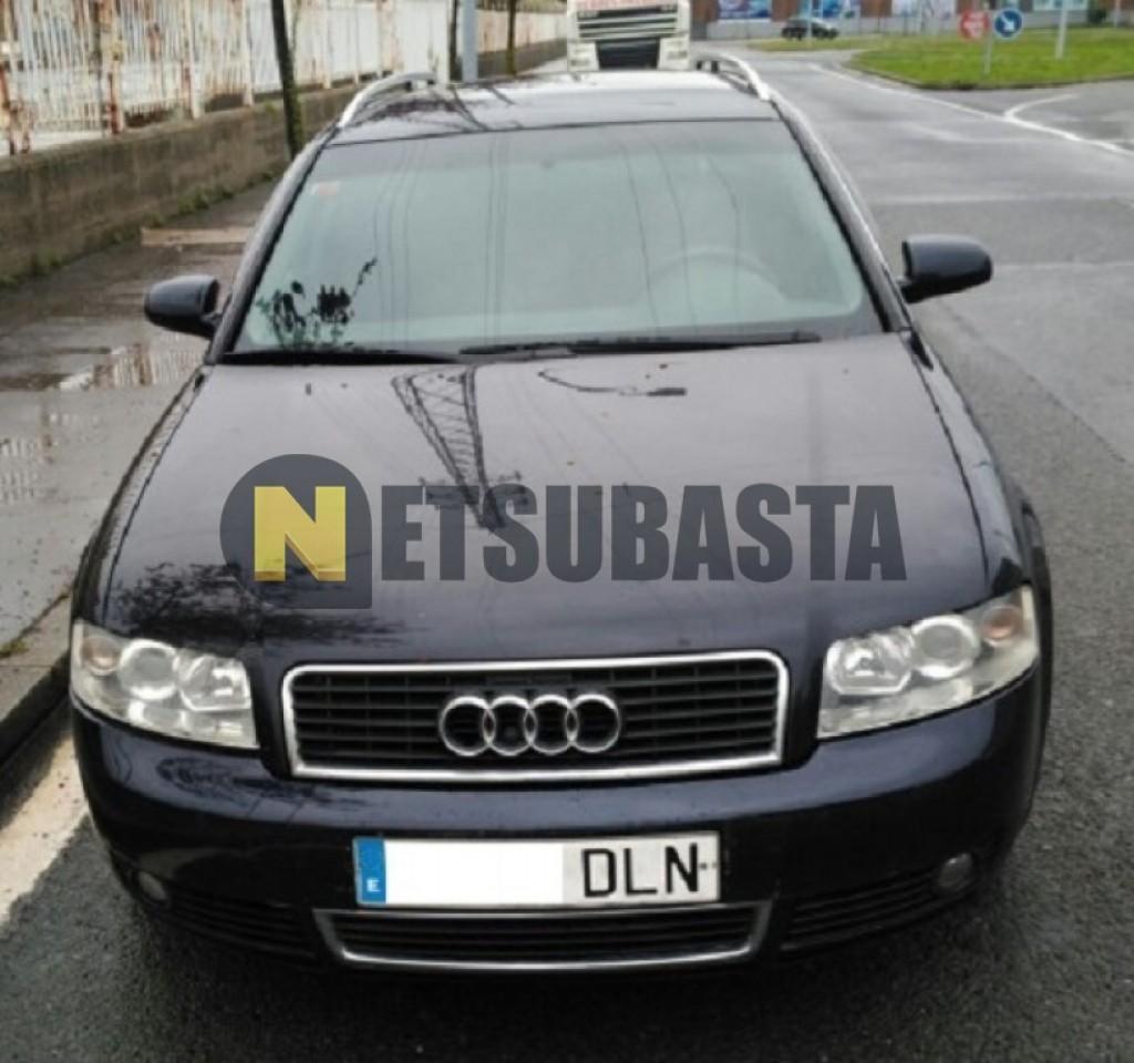 Subasta de Audi A4 2.5TDI 2002