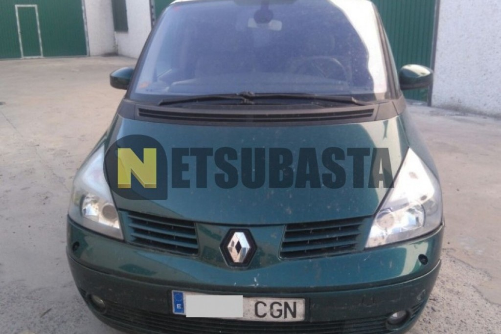 Renault Grand Espace 2.2dCi 2003