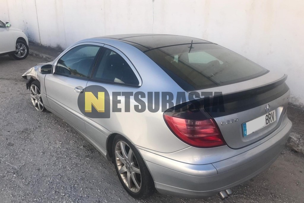 Mercedes-Benz C220 CDI Coupe 2001