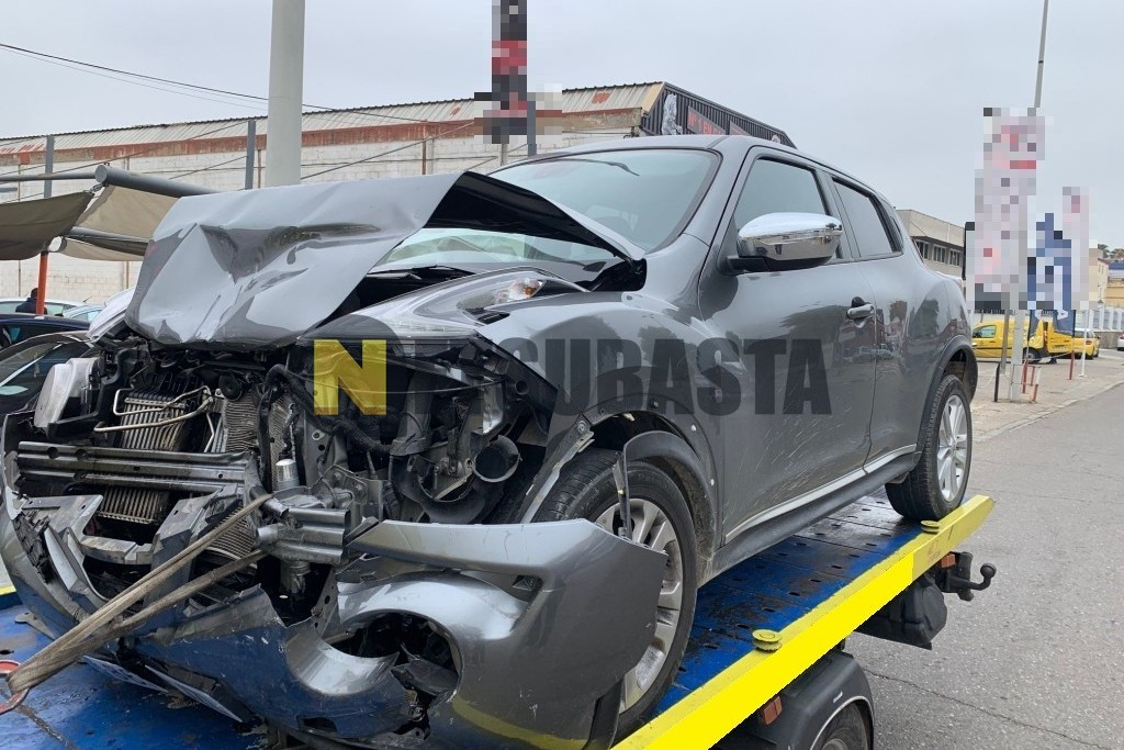 Nissan Juke 1.5dCi N-Connecta 2017
