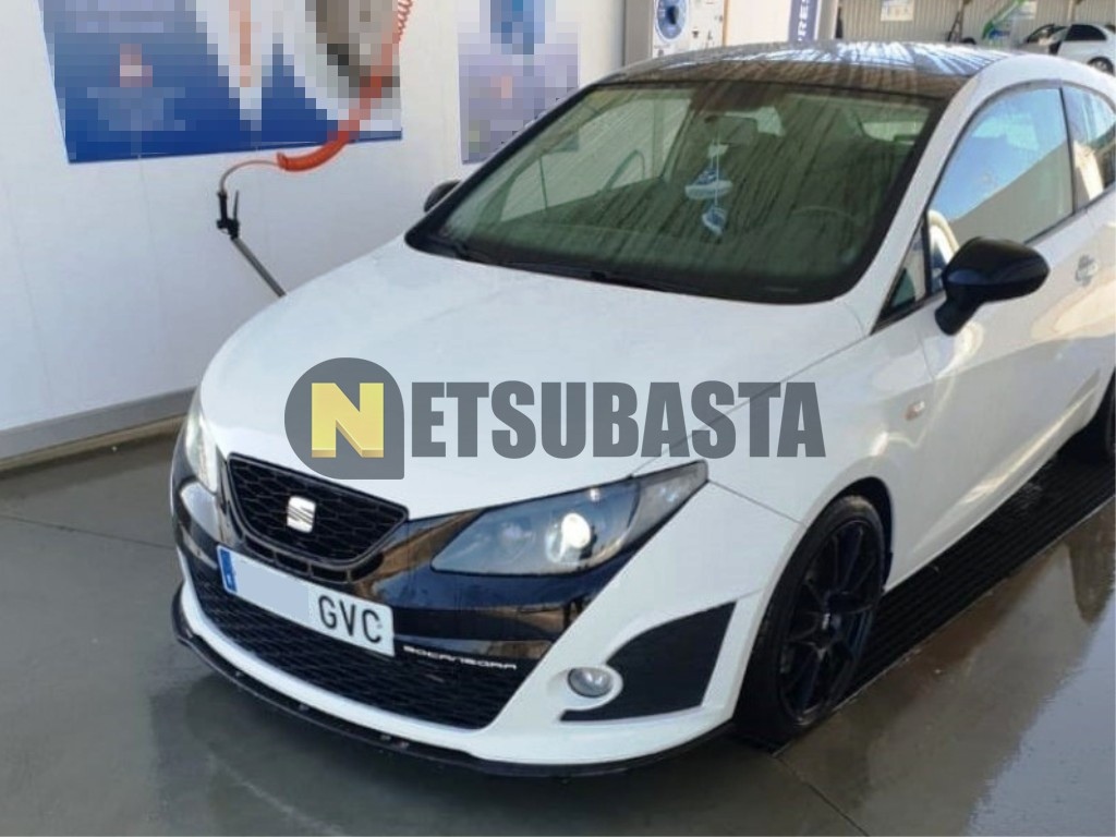 subasta de seat ibiza fr bocanegra 1 4tsi dsg 2010. Black Bedroom Furniture Sets. Home Design Ideas