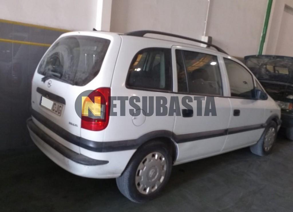Subasta De Opel Zafira 2 0dti 2003